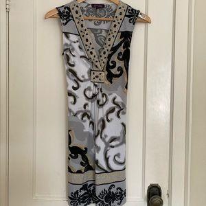 Hale Bob sleeveless summer dress